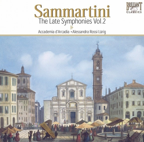 Late Symphonies vol.2 Sammartini